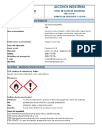 FDS 18 ALCOHOL INDUSTRIAL
