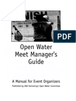 Open Water Meet Managers Guide