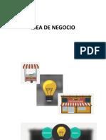 estructura de una idea de negocio