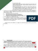 Informare  modificare cod fiscal contributii