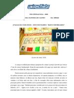 PSICOPEDAGOGIA AVALIAÇÃO COM JOGOS.docx