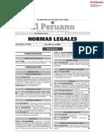 normas legales de mayo