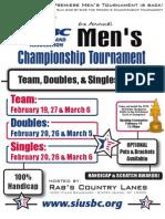 Staten Island USBC Men's Championship Tournament Application Bundle