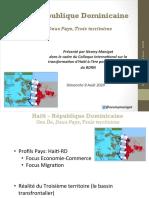Haïti-République Dominicaine