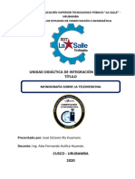 Monografia Sobre La Telemedicina José ILLA