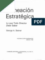 Steiner, G. 2006. Planeación estratégica, lo que todo director debe saber. México CECSA.