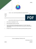 Sains Kertas 1 Pra UPSR 1 Baram 2016-1.docx