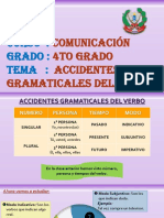 4° Accidentes gramaticales del verbo - T2