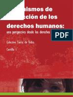 CARTILLA 1 MECANISMOS PROTECCION DE LOS DDHH