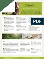 Fact Sheet Actividades / Activities - Hotel Rio Sagrado