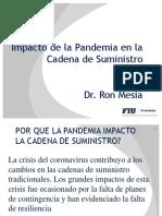 Impacto de la Pandemia en la CADENA DE SUMINISTRO