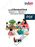 ADM-Math 10_Generates Pattern.docx