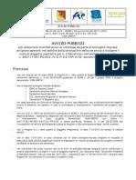 AVVISO PUBBLICO X BOTTEGHE ARTIGIANE