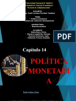 POLITICA MONETARIA CAP 14