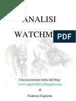 Analisi Watchmen