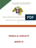 conflictos sociales y negociación politica - SESION ii