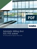 Slx Sliding Door System