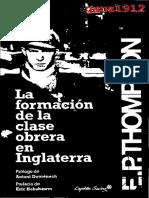THOMPSON, E. P. - La Formación de la Clase Obrera en Inglaterra (OCR).pdf
