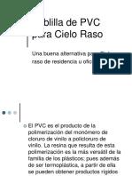 Manual Cielo Raso PVC