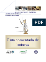 GESTIÓN DE AGRONEGOCIOS EN EMPRESAS