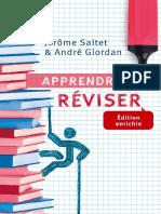 Apprendre a reviser - Andre Giordan, Jerome Saltet