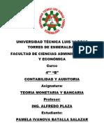 TRABAJO DE TEORIA MONETARIA Y BANCARIA - 2