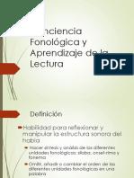 14 Borzone La conciencia fonológica y el proceso de lectoescritura