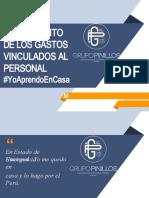 TRATAMIENTO DE LOS GASTOS VINCULADOS AL PERSONAL - GRUPO PINILLOS - Escuela de Negocios.pptx