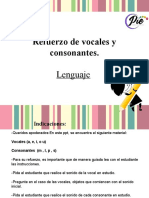 Refuerzo de vocales y consonantes.pps