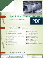 Tips PLC s7-1200