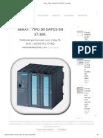 Tipo de datos en S7-300
