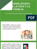 HpV y la Familia. Una propuesta para afrontar la adversidad. FINAL