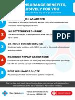 e-Leaflet (Motor Insurance Benefits - Non Nissan)