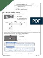 MCTC-IC Card Manual