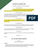 DECRETO 900 DEL CONGRESO 900 ACTUALIZADO