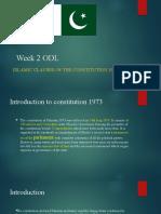islamic provision 1973,ppt