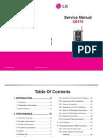 LG u8110 Service Manual
