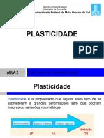 Aula1-PLASTICIDADE, PRÓCTOR E GRANULOMETRIA