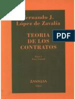 TEORÍA DE LOS CONTRATOS. TOMO 1