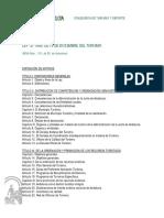 LEY 12-99 DEL TURISMO ANDALUCIA