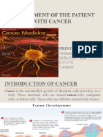 management of patient with cancer