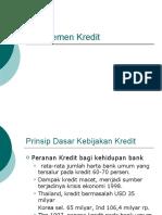 Manjemen Kredit rev