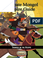 Savage Worlds - Ultimate Mongol Empire Guide - Thunder on the Steppe.pdf
