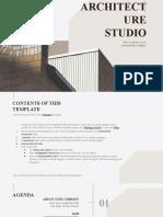 Architecture Studio by Slidesgo