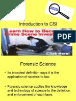Introduction to CSI