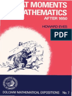 Eves, Howard, [af] Great moments in mathematics after 1650.pdf