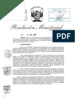 Plan de Gobierno Digital 2020-2022 Ministerio de Justicia- Perú