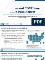AAP and CHA - Children and COVID-19 State Data Report 7.30.20 FINAL