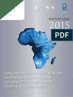 MDG Report 2015_FRE-Draft14Sept