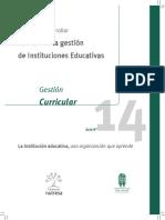 Guía N° 14 - Gestión Curricular (2013)